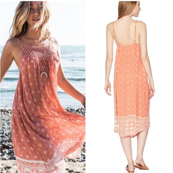583691da3e1d Rip Curl Dresses | 2018 South Wind Border Dress Coral Nwt | Poshmark